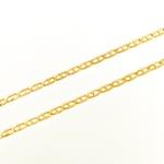 Corrente Piastrine Maciça em Ouro 18k