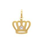 Pingente Coroa Ouro 18k