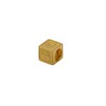 Pingente Cubo Menina em Ouro 18k