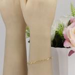 Bracelete Ondas em Ouro 18k