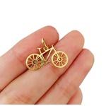 Pingente de Bicicleta em Ouro 18k