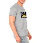 Camiseta Masculina Personalizada 100% Algodão Cinza