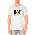 Camiseta Masculina Personalizada 100% Algodão Branca
