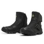 Bota Master Boots Motoqueiro Velcro Preto