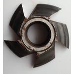 Fresa Para Molduras 100mm X 28mm 6 Asas f 30 Em Aço Fepam