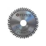 Disco de serra circular 150 mm X 5,6-9,0 X 24 + 24 dentes F.30 Regulável Fepam