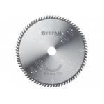 Disco de serra circular 250 mm X 80 dentes ED 38º /BR F.30 Fepam