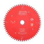 . Disco de Serra circular 250 mm X 80 dentes 10'' ED 30º /BR F.30 FREUD