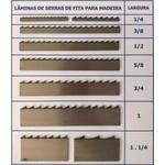 Lâmina Serra Fita 1/4 Pol. (6mm) Temperada Para Madeira Cortec