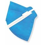 Respirador Infantojuvenil Descartável PFF2 (S) - azul sky - Kit com 10 un.