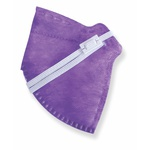 Respirador Infantojuvenil Reutilizável PFF2 (S) - roxa - Kit com 10 un.