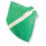 Respirador Infantojuvenil Descartável PFF2 (S) - verde claro - Kit com 10 un.