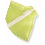 Respirador Infantojuvenil Reutilizável PFF2 (S) - verde limão - Kit com 10 un.