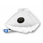 Respirador Descartável Tipo PFF1 (S) Branca Com Válvula - Kit com 10 un.