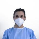 Respirador Descartável Tipo PFF2 (S) Branco - Kit com 10 un.