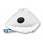 Respirador Descartável Tipo PFF2 (S) Branco com Válvula - Kit com 10 un.