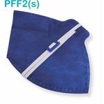 Respirador Descartável Tipo PFF2 (S) Azul - Kit com 10 un.