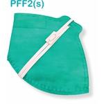 Respirador Descartável Tipo PFF2 (S) vede bandeira - Kit com 10 un