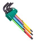 Jogo Chave Allen Longa 1,5-10mm Color Aba 9pc