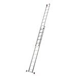 Escada Aluminio Extensiva 2 x 11 Degraus Botafogo