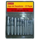 Jogo De Vazador 3-19mm 12 PeÇas