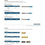 Pinos - Fixação à Pólvora De Baixa Velocidade(ação Indireta)