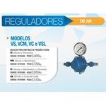 Regulador Modelos VS, VCM, VC e VSL