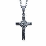 Corrente com Crucifixo 2,8 x 1,6 cm
