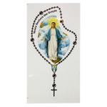 Adesivo Terço Pequeno Nossa Senhora das Graças