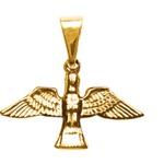 Pombinha Espírito Santo Folhado à Ouro