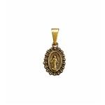 Medalha Milagrosa Ouro Velho Pequena