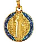 Medalha São Bento Resinada 28mm