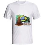 Camiseta Nossa Senhora Aparecida Bandeira Brasil