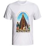 Camiseta de Nossa Senhora Aparecida com Crianças