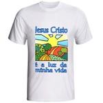 Camiseta Jesus Cristo é a Luz da minha Vida