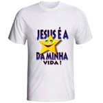 Camiseta Jesus é a Estrela da Minha Vida