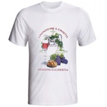 Camiseta Primeira Eucaristia - Unindo-me a Cristo