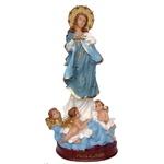 Imagem de Nossa Senhora da Conceição 20cm Resina Nacional