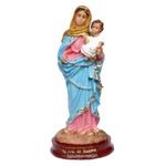Imagem de Nossa Senhora do Rosário 15cm Resina Nacional