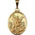 Medalha Folhada à Ouro São Miguel