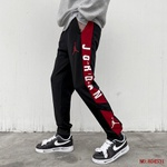 Calça Jordan Moletom Black Red 2034