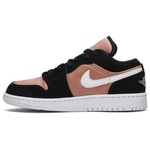 Tênis Nike Air Jordan 1 Low White Rose Gold