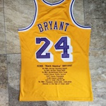 Camisa NBA Mitchell & Ness Bryant 24 Lakers