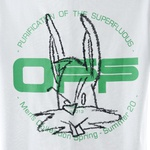 Camiseta Off-white Harry The Bunne White