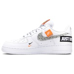 """Tênis Nike Air Force 1 '07 """" Just Do It """" White"""