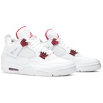 Tênis Nike Air Jordan 4 Retro Red Metallic