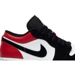 Tênis Nike Air Jordan 1 Low Black Toe