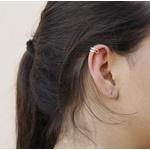 Brinco Piercing Prata De Lei 925 Vazado