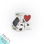 Pingente I Love SP Memories Prata 925
