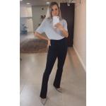 Blusa De Golinha Cinza
